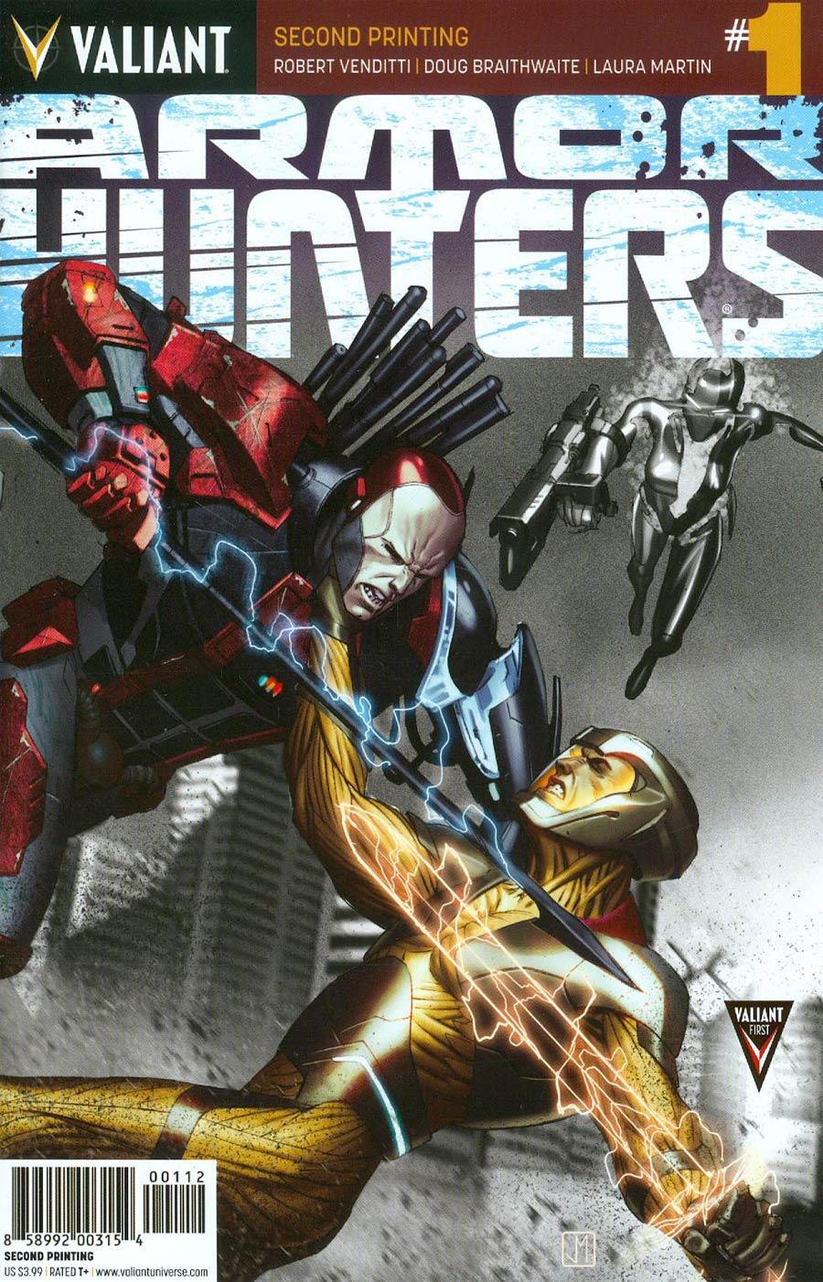 Armor Hunters #1 Cover H 2nd Ptg
