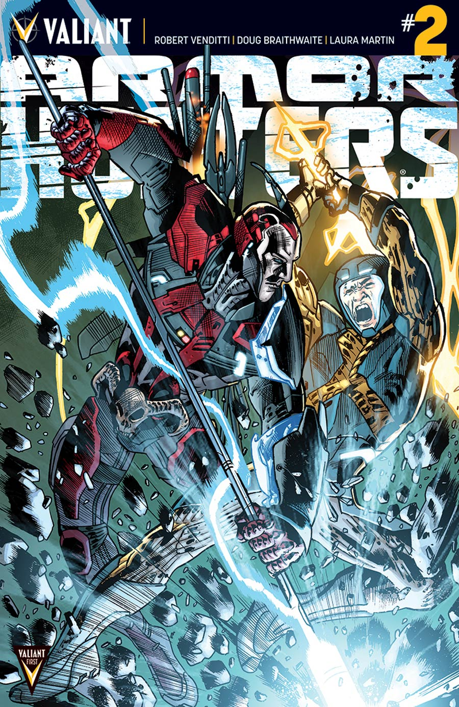 Armor Hunters #2 Cover E Incentive Bryan Hitch Variant Cover