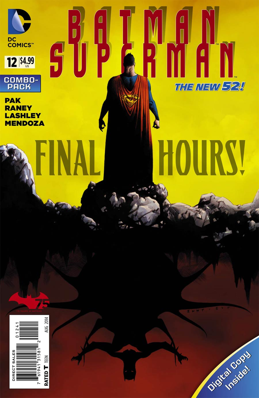 Batman Superman #12 Cover D Combo Pack Without Polybag