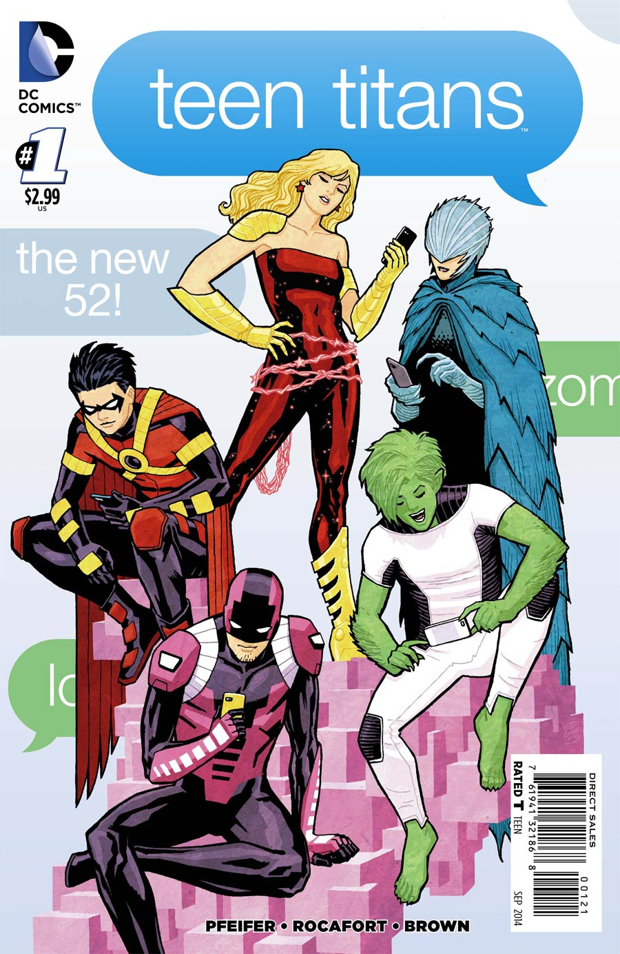 Teen Titans Vol 5 #1 Cover C Incentive Cliff Chiang Variant Cover