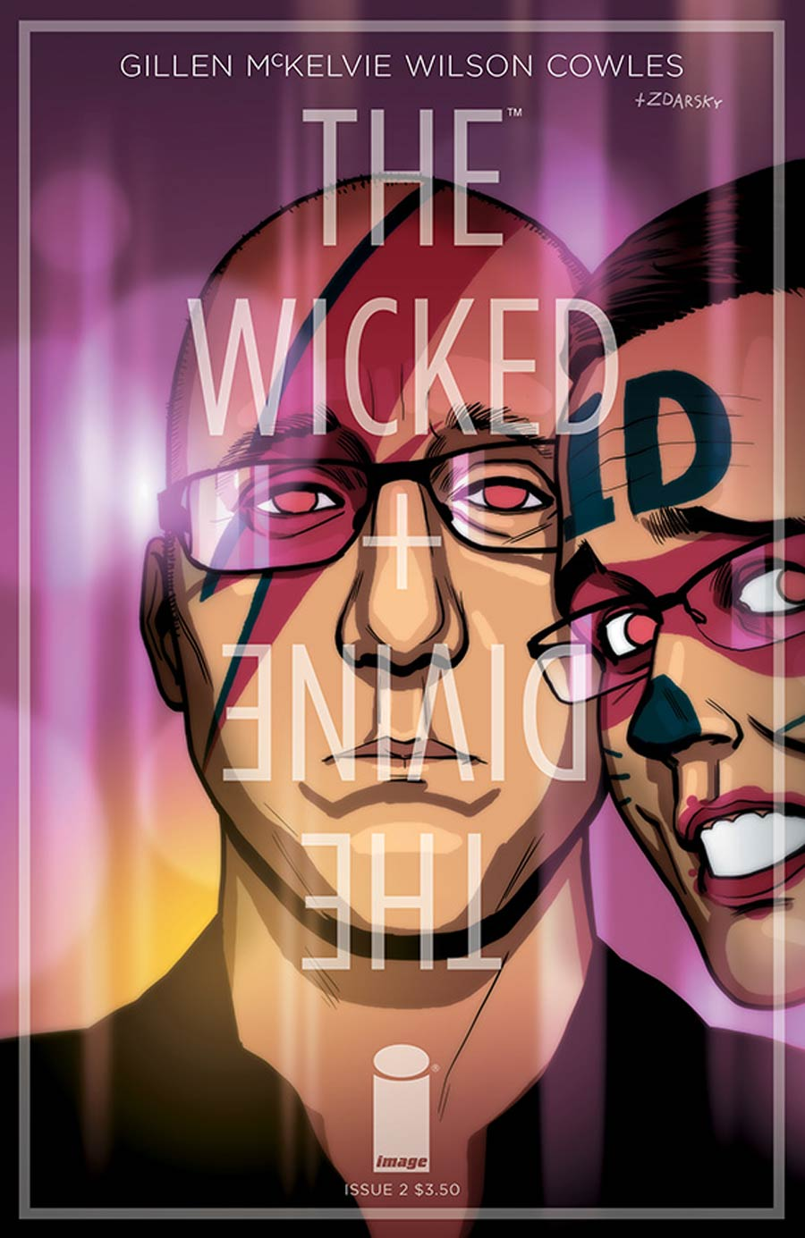 Wicked + The Divine #2 Cover B Variant Chip Zdarsky Cover