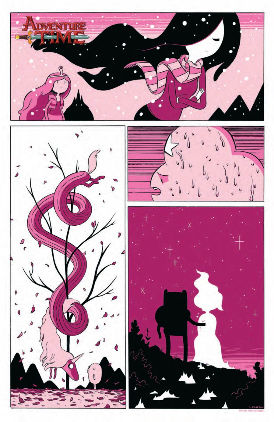 Adventure Time #30 Cover C Incentive Luke Pearson Virgin Variant Cover