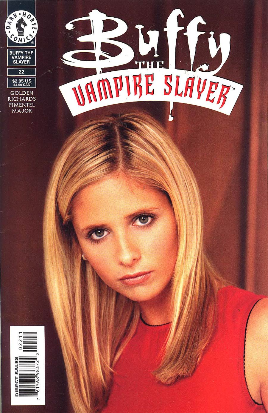 Buffy The Vampire Slayer #22 Photo Cvr