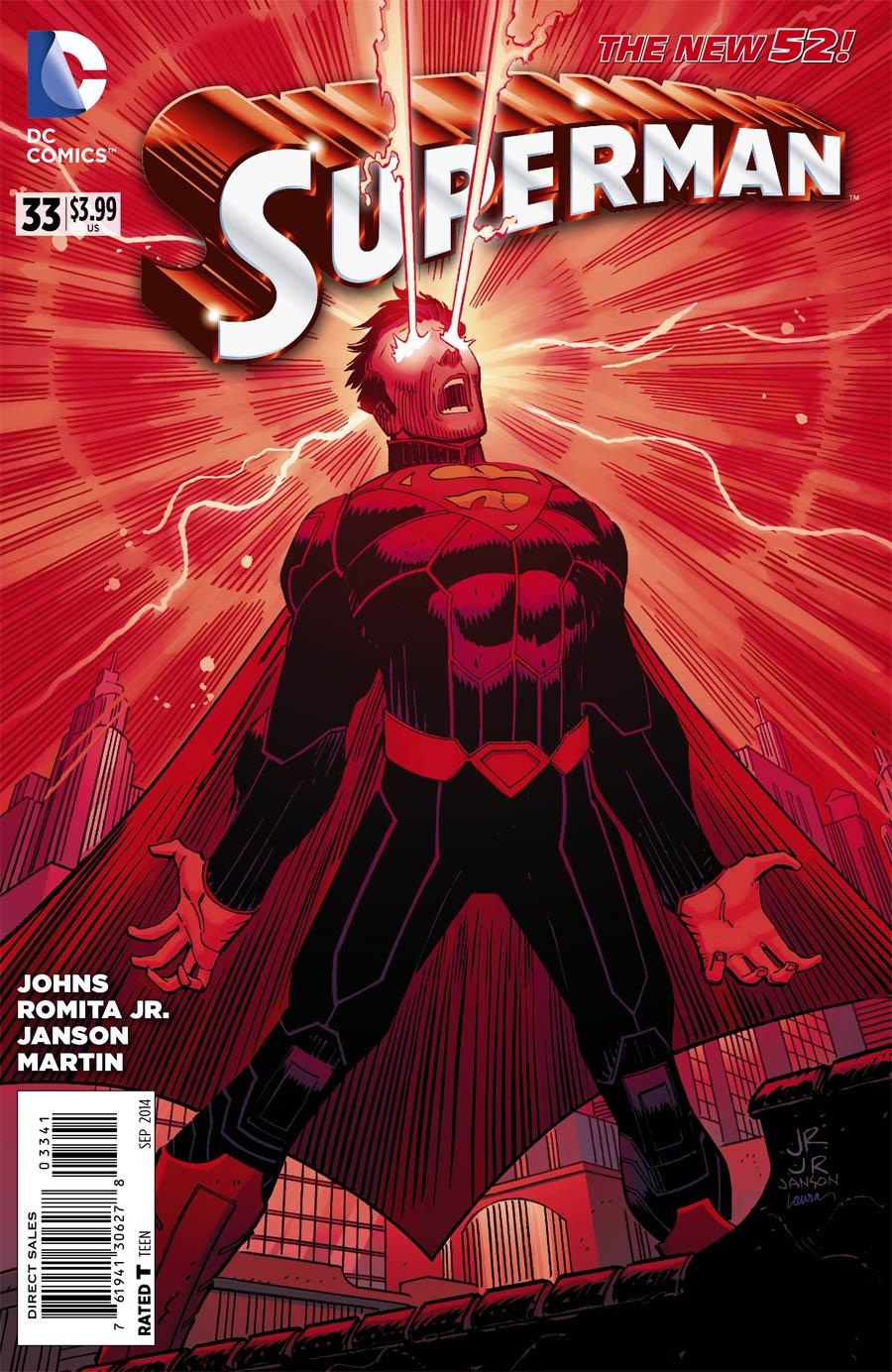 Superman Vol 4 #33 Cover F Incentive John Romita Jr Variant Cover