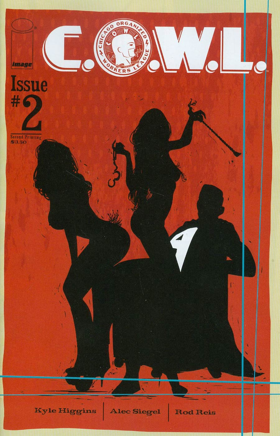 C.O.W.L. #2 Cover B 2nd Ptg Trevor McCarthy Variant Cover