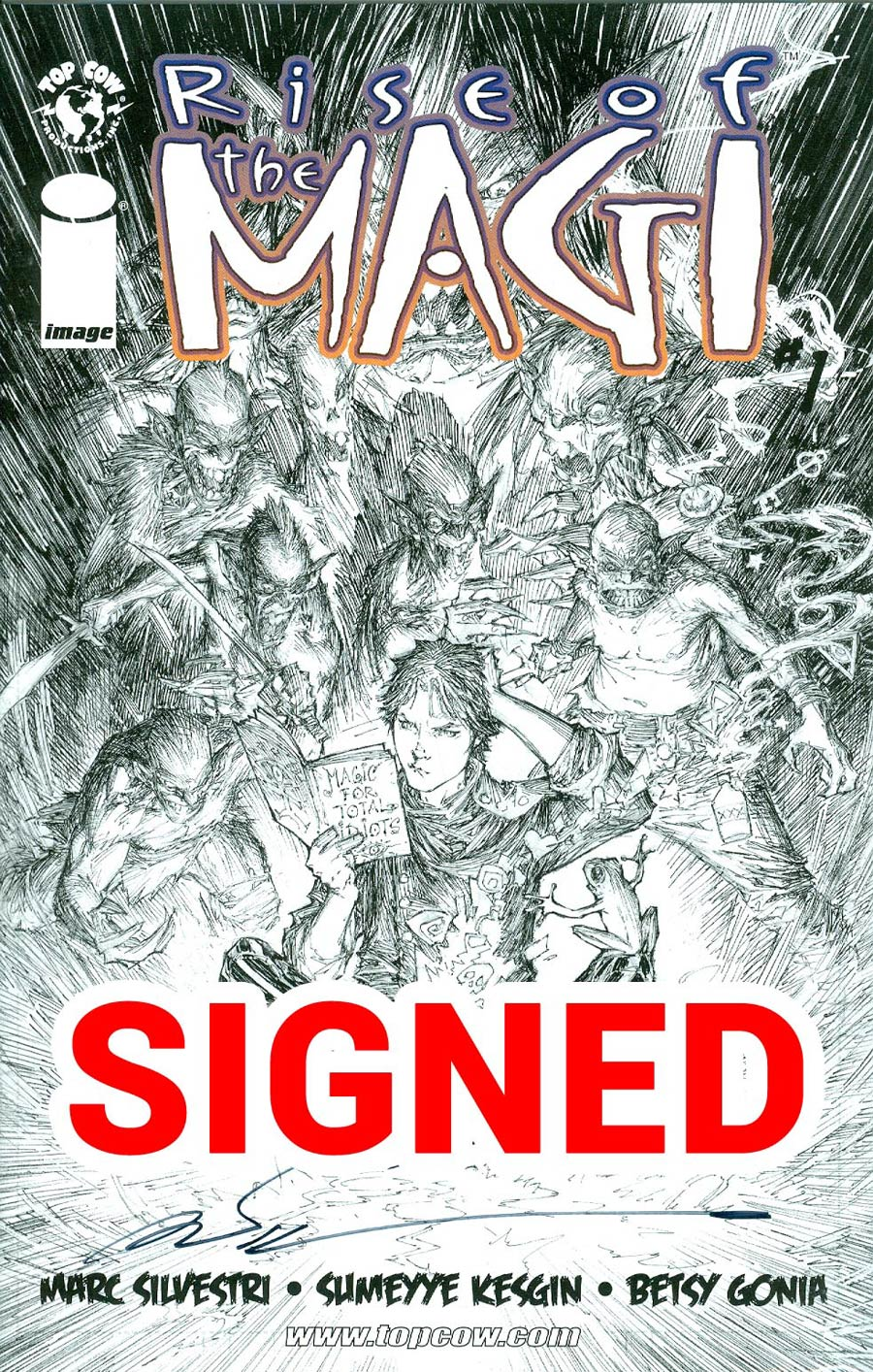Rise Of The Magi #1 Cover E Incentive Signed By Marc Silvestri