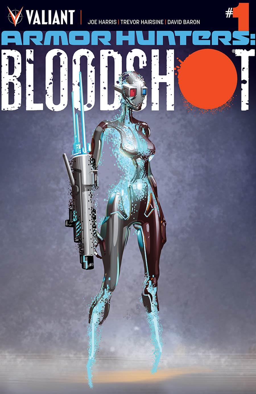 Armor Hunters Bloodshot #1 Cover D Incentive Clayton Crain Character Design Variant Cover