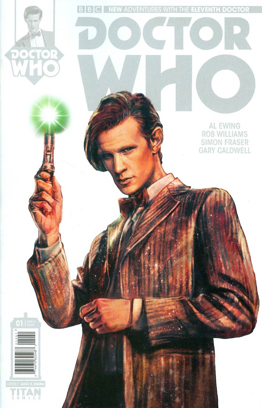 Doctor Who 11th Doctor #1 Cover H Incentive Alice X Zhang Stark Cover