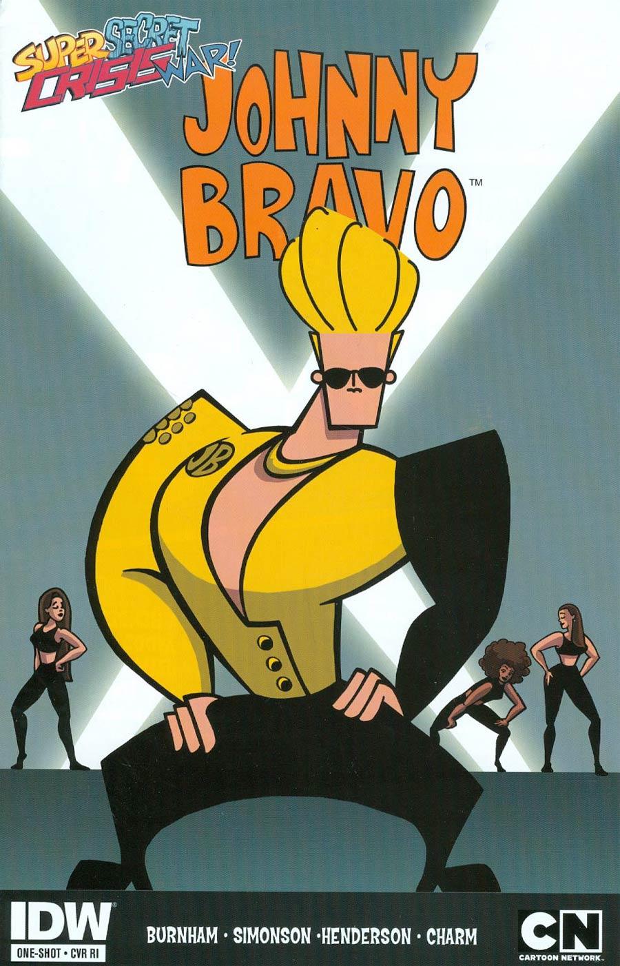 Super Secret Crisis War Johnny Bravo #1 Cover C Incentive Van Partible Variant Cover