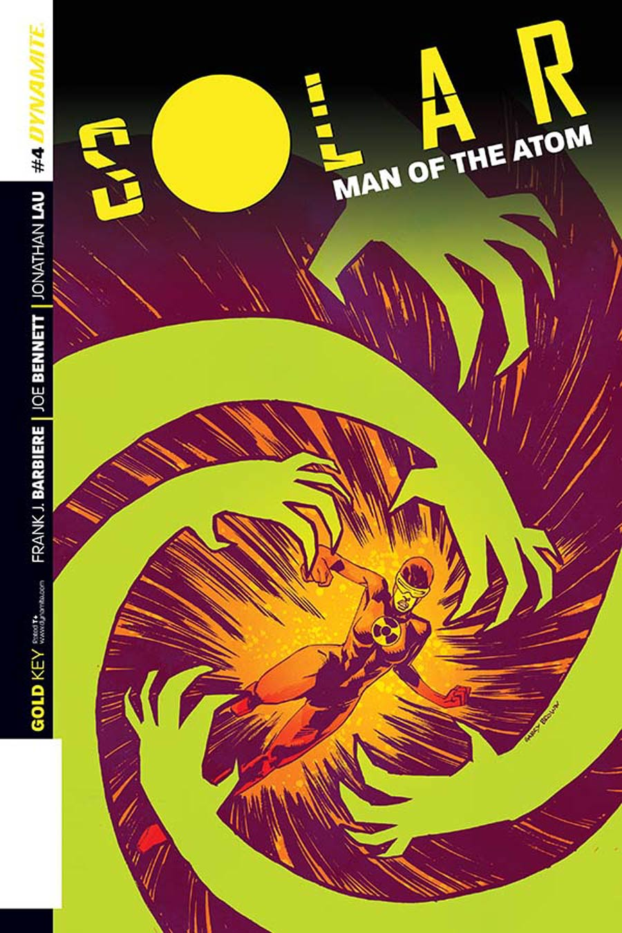Solar Man Of The Atom Vol 2 #4 Cover D Incentive Garry Brown Variant Cover