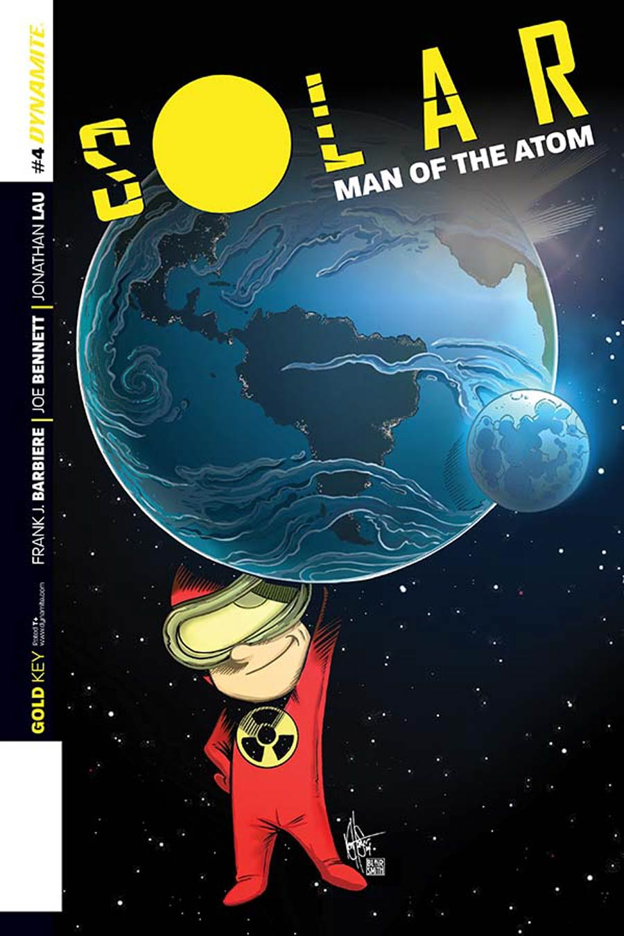 Solar Man Of The Atom Vol 2 #4 Cover E Incentive Ken Haeser Lil Solar Variant Cover