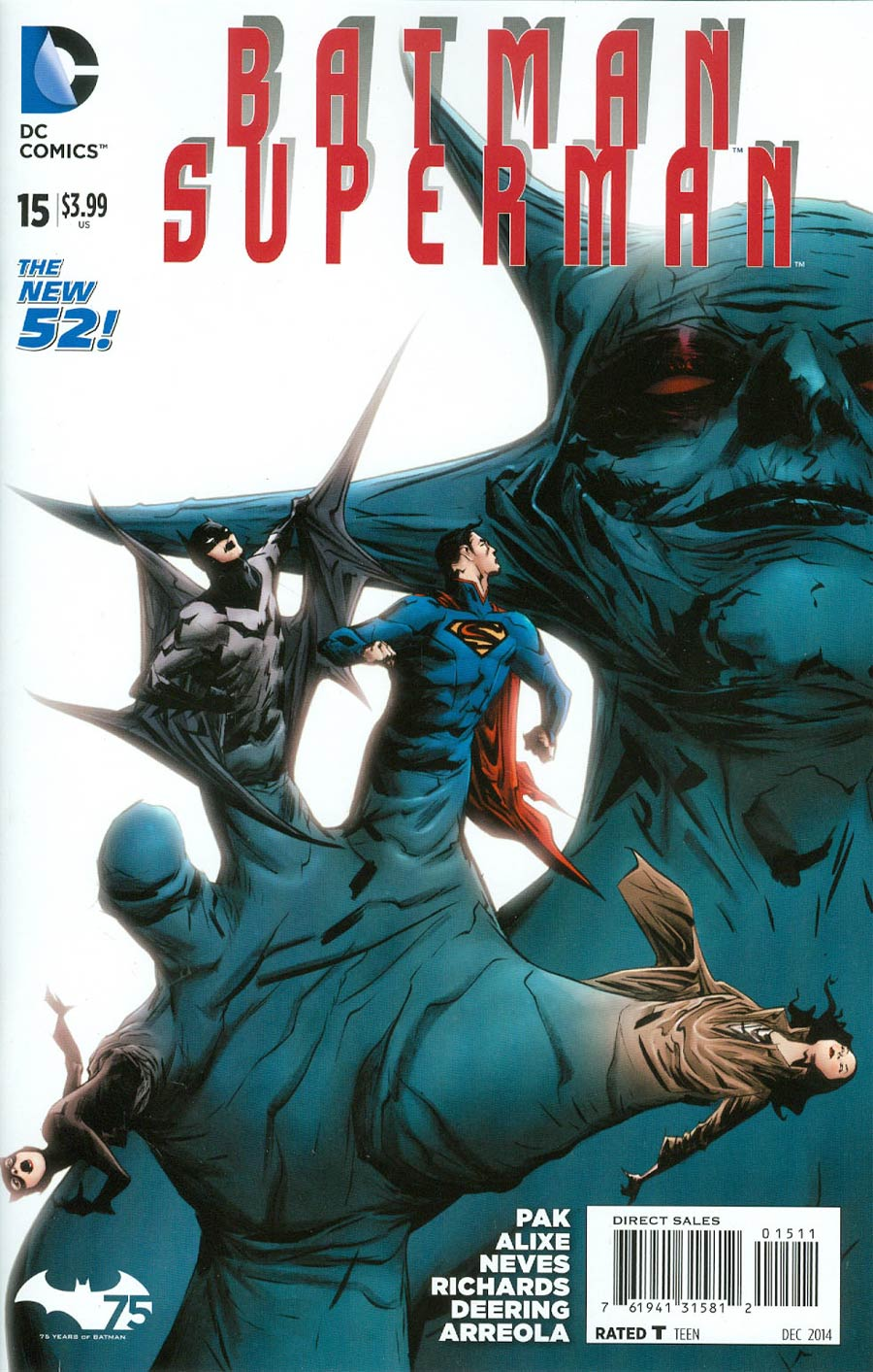 Batman Superman #15 Cover A Regular Jae Lee Cover