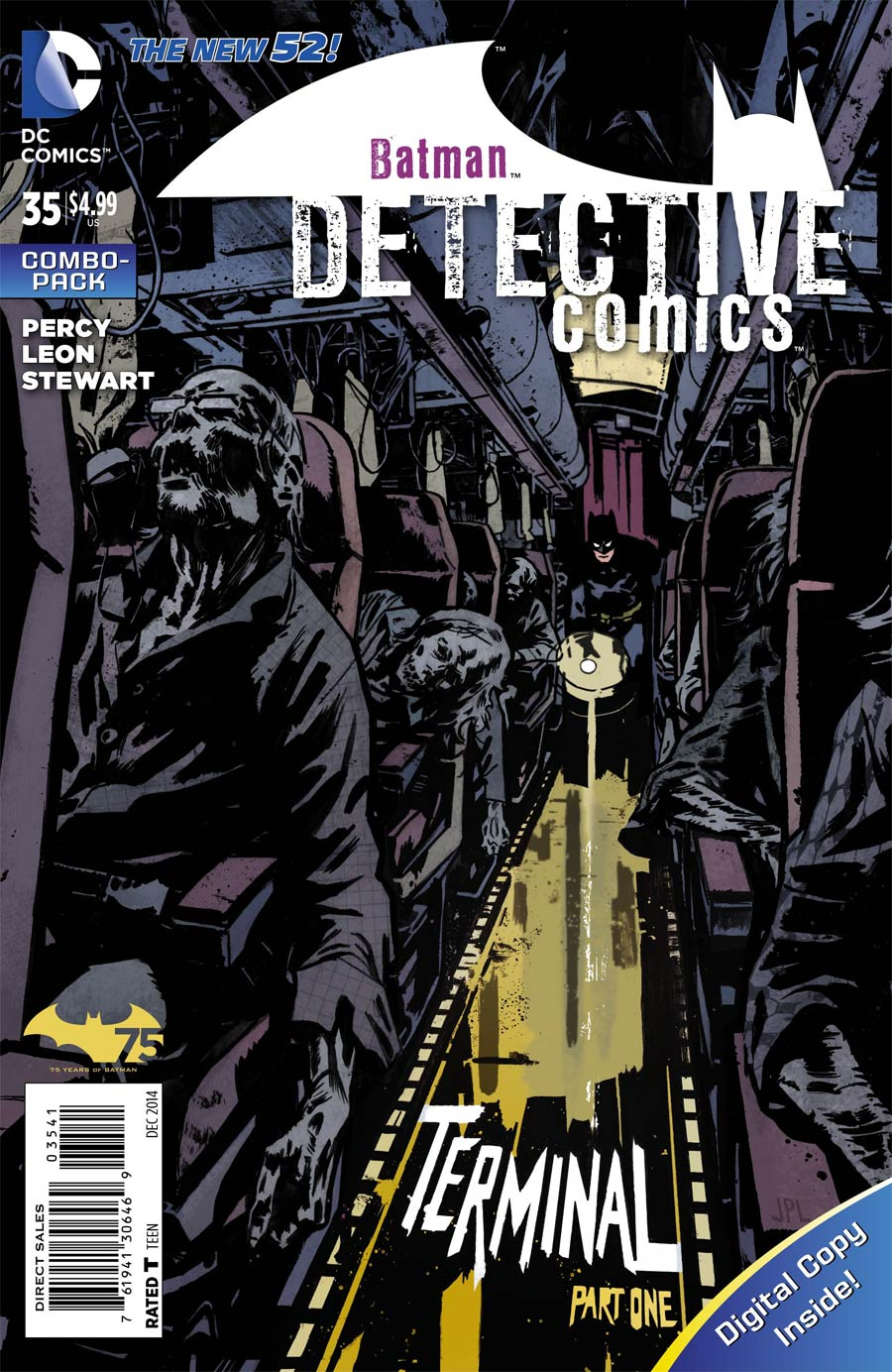 Detective Comics Vol 2 #35 Cover C Combo Pack With Polybag