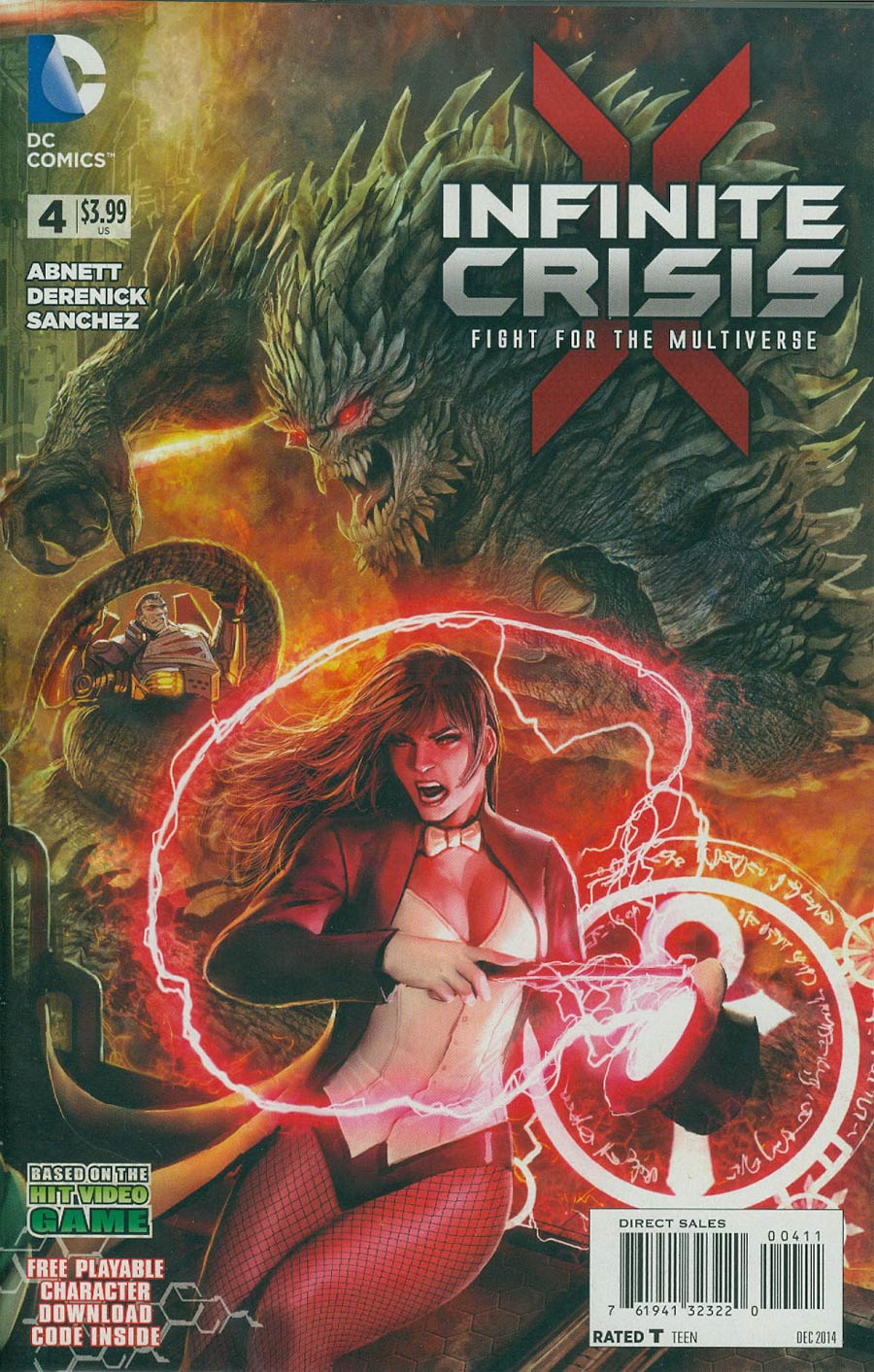Infinite Crisis Fight For The Multiverse #4 Cover A With Polybag