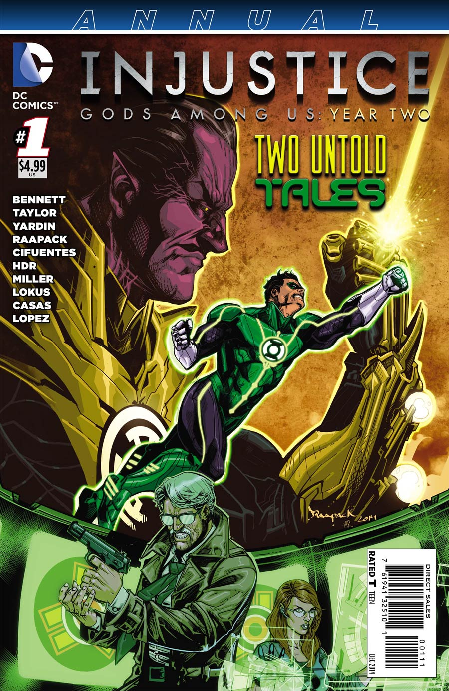 Injustice Gods Among Us Year Two Annual #1
