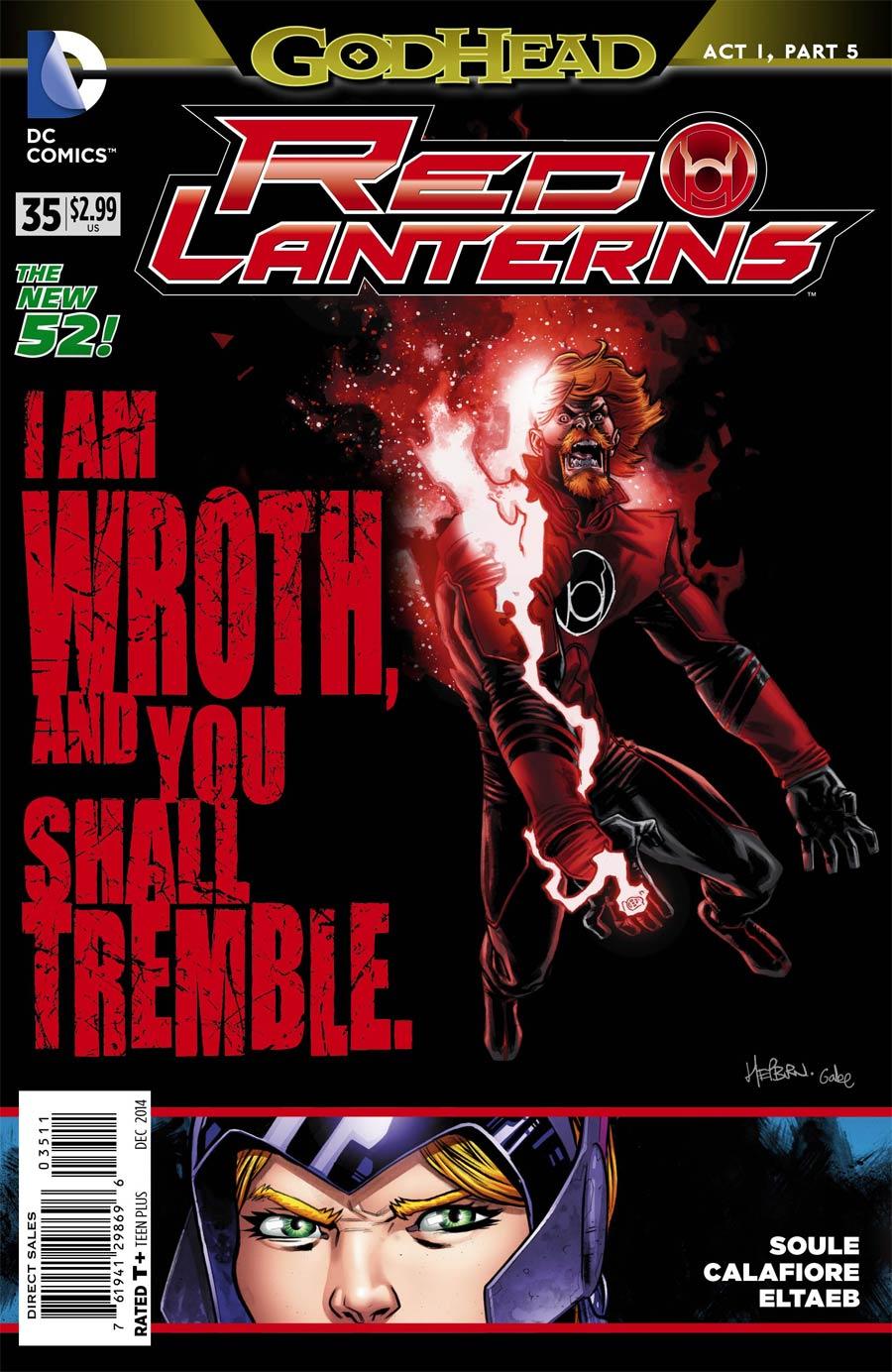 Red Lanterns #35 (Godhead Act 1 Part 5)