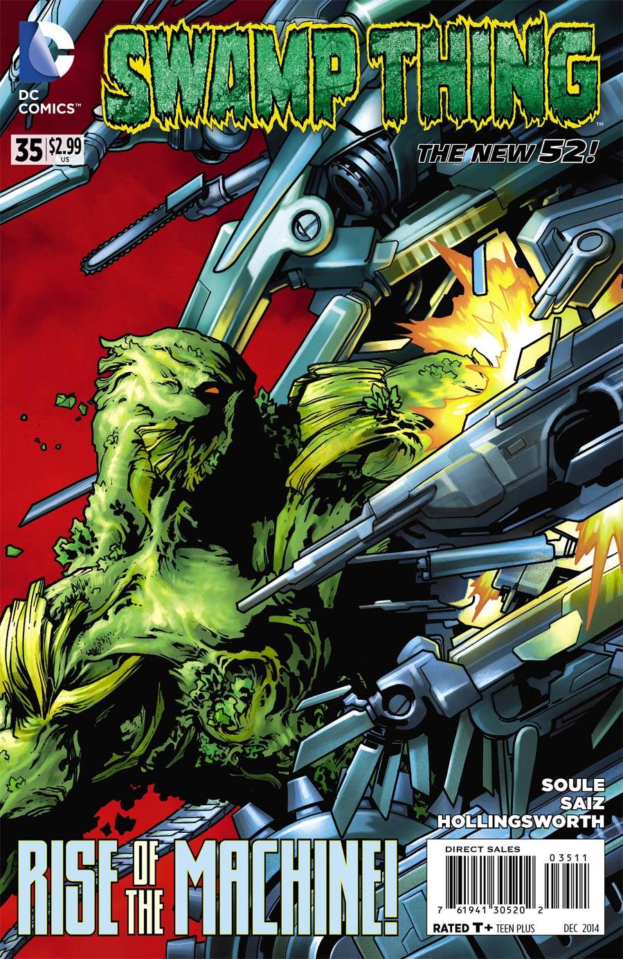 Swamp Thing Vol 5 #35
