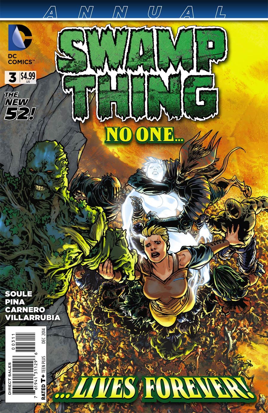 Swamp Thing Vol 5 Annual #3