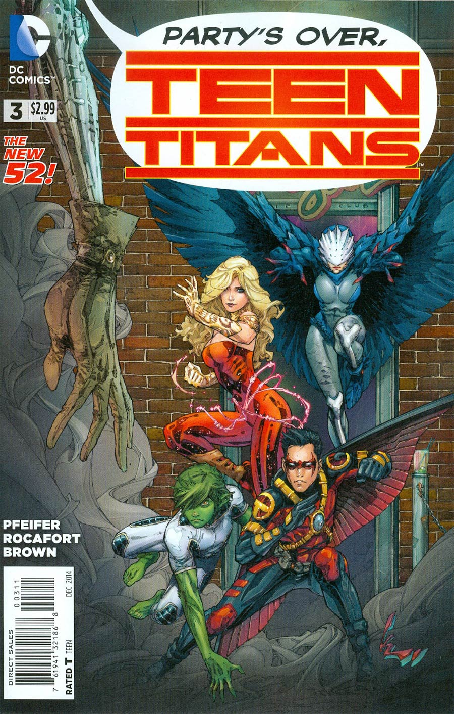 Teen Titans Vol 5 #3 Cover A Regular Kenneth Rocafort Cover
