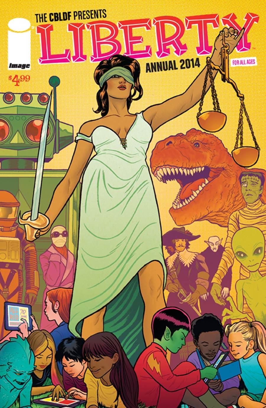 CBLDF Liberty Annual 2014 Cover A Mike Allred Joe Quinones Maris Wicks