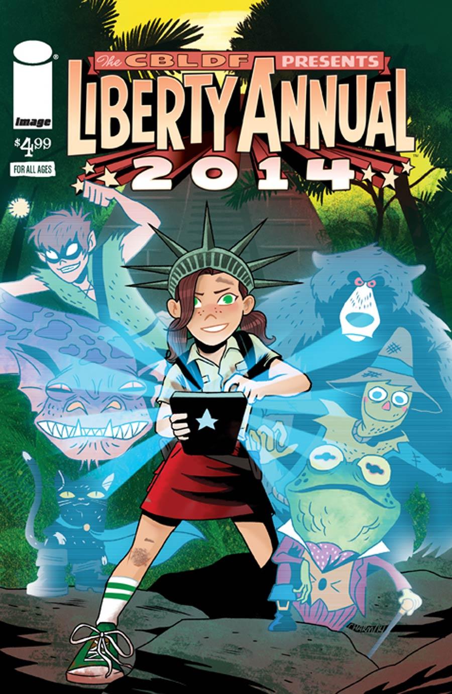 CBLDF Liberty Annual 2014 Cover C Derek Charm