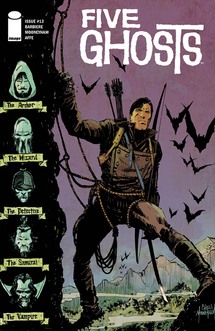 Five Ghosts #13 Cover A Regular Chris Mooneyham Cover