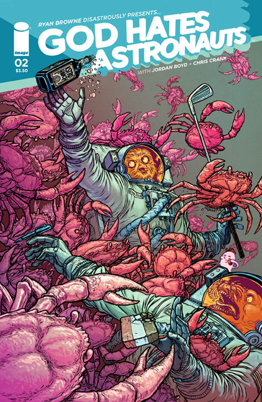 God Hates Astronauts #2 Cover A Ryan Browne
