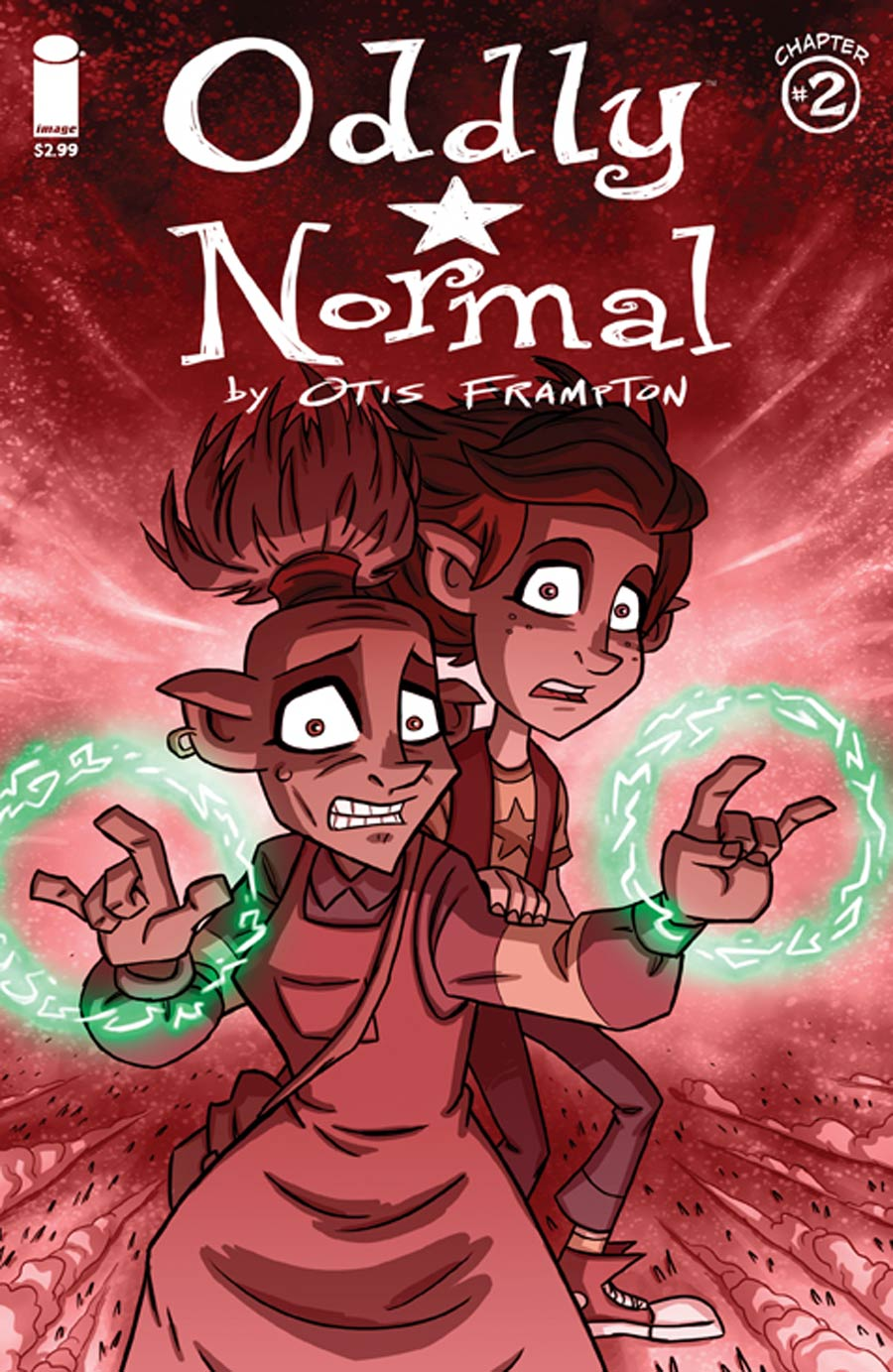 Oddly Normal Vol 2 #2 Cover A Otis Frampton