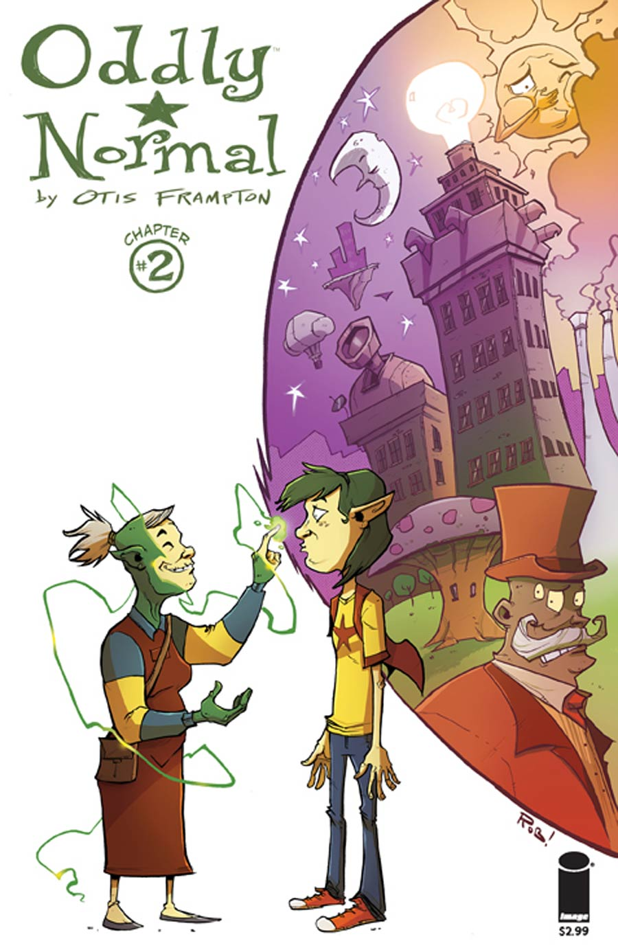 Oddly Normal Vol 2 #2 Cover B Rob Guillory