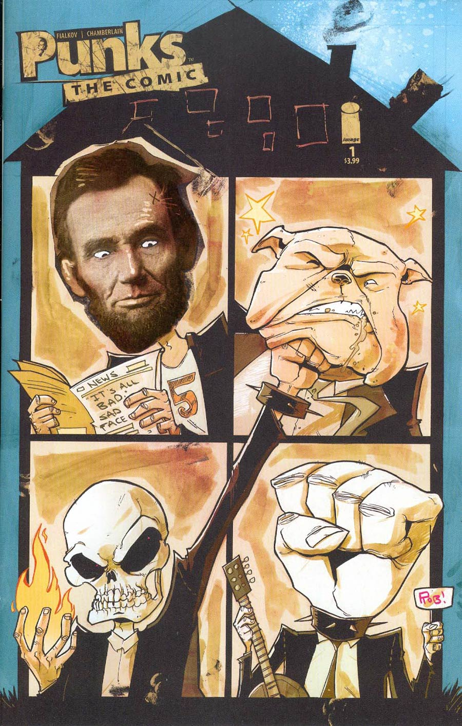 Punks The Comic #1 Cover B Rob Guillory