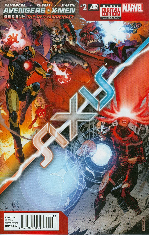 Avengers & X-Men AXIS #2 Cover A Regular Jim Cheung Cover