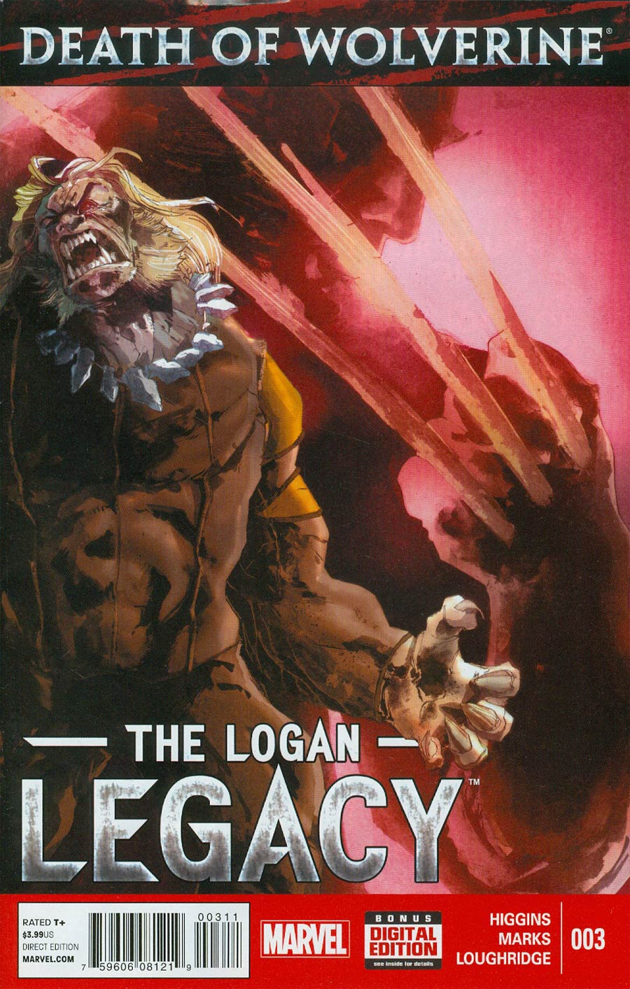 Death Of Wolverine Logan Legacy #3 Cover A Regular Ariela Kristantina Cover