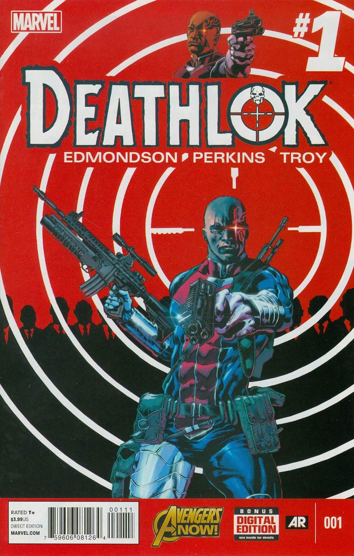 Deathlok Vol 5 #1 Cover A Regular Mike Perkins Cover