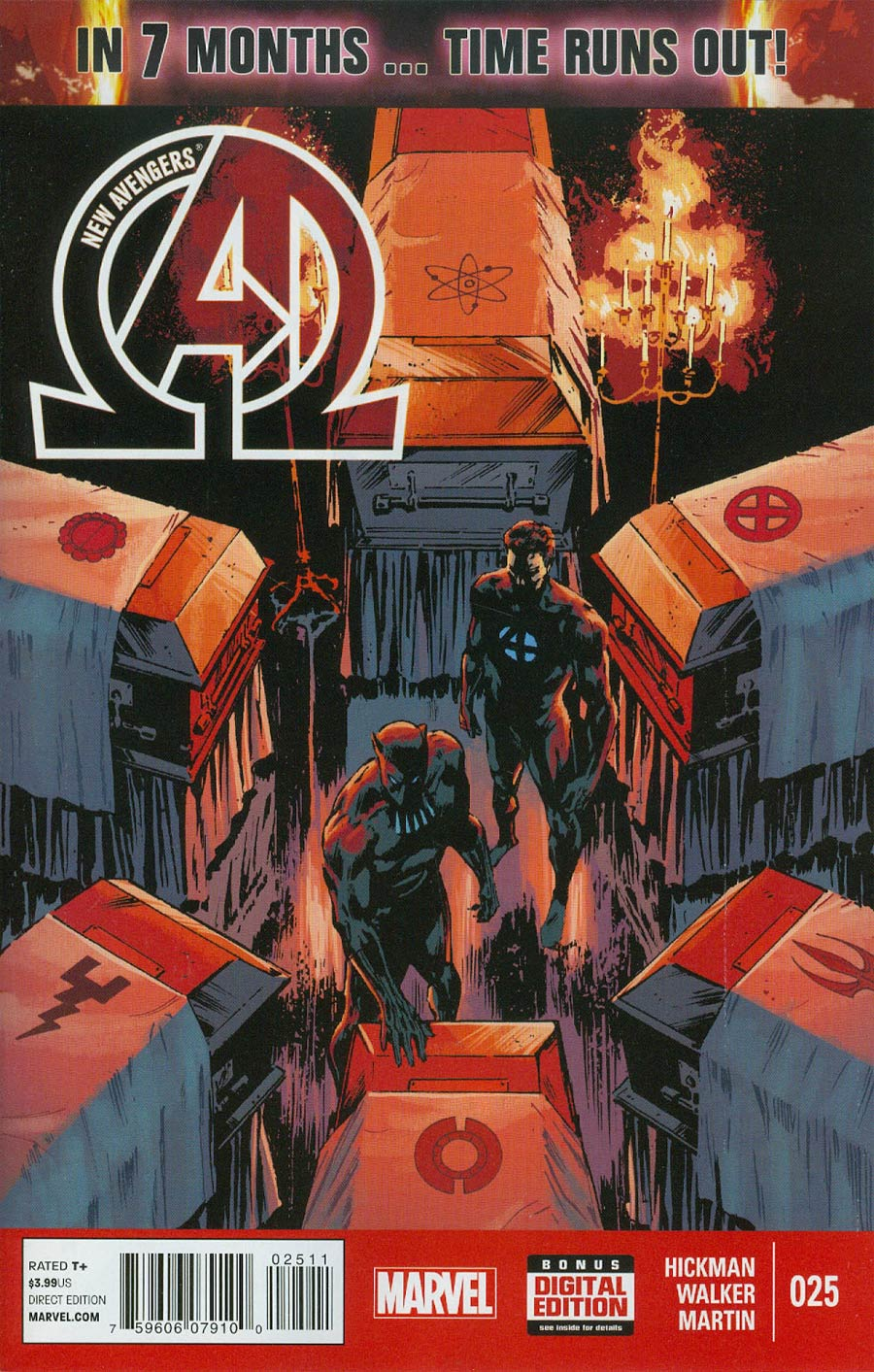 New Avengers Vol 3 #25 Cover A Regular Jackson Guice Cover (Time Runs Out Tie-In)