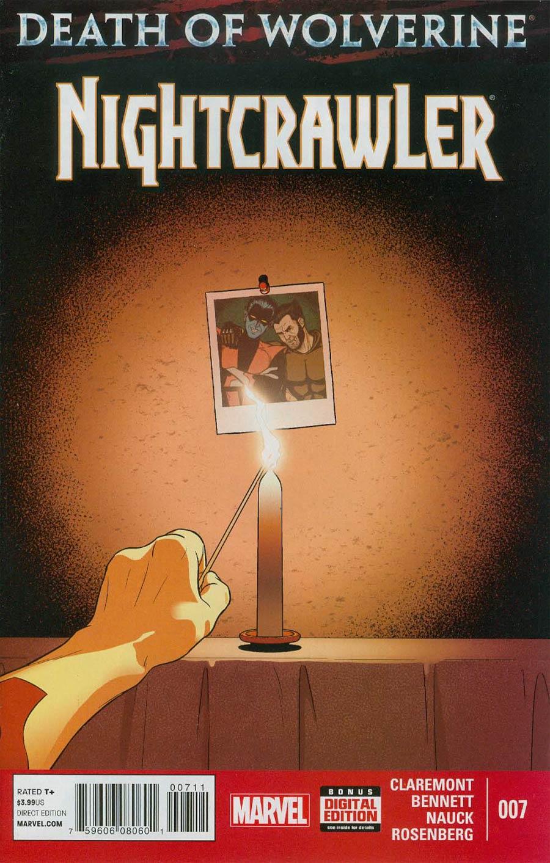 Nightcrawler Vol 4 #7 (Death Of Wolverine Tie-In)