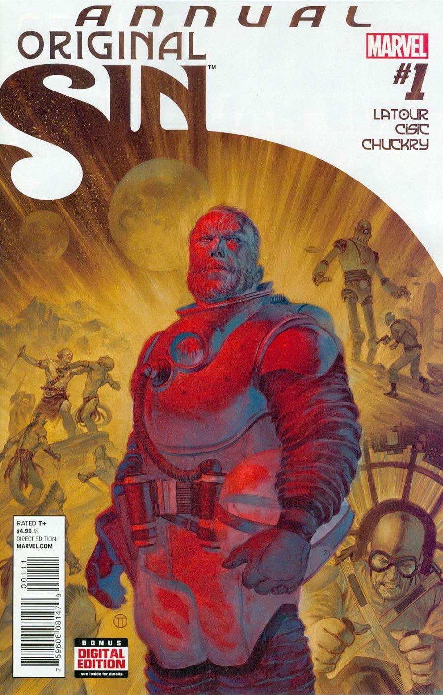Original Sin Annual #1 Cover A Regular Julian Totino Tedesco Cover