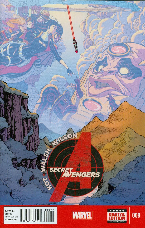 Secret Avengers Vol 3 #9 Cover A Regular Tradd Moore Cover