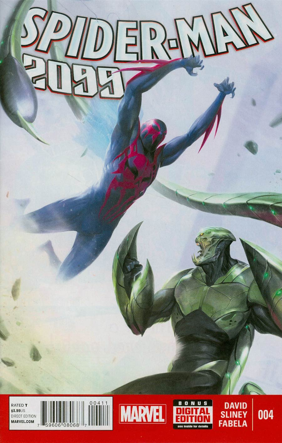 Spider-Man 2099 Vol 2 #4 Cover A Regular Francesco Mattina Cover