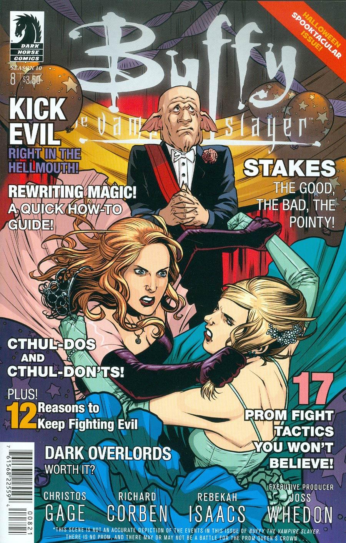 Buffy The Vampire Slayer Season 10 #8 Cover B Variant Rebekah Isaacs Cover