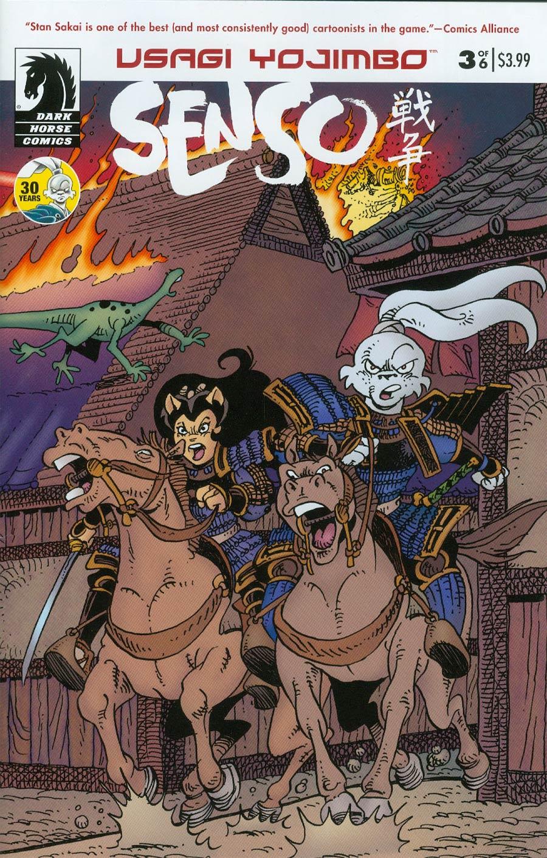 Usagi Yojimbo Senso #3