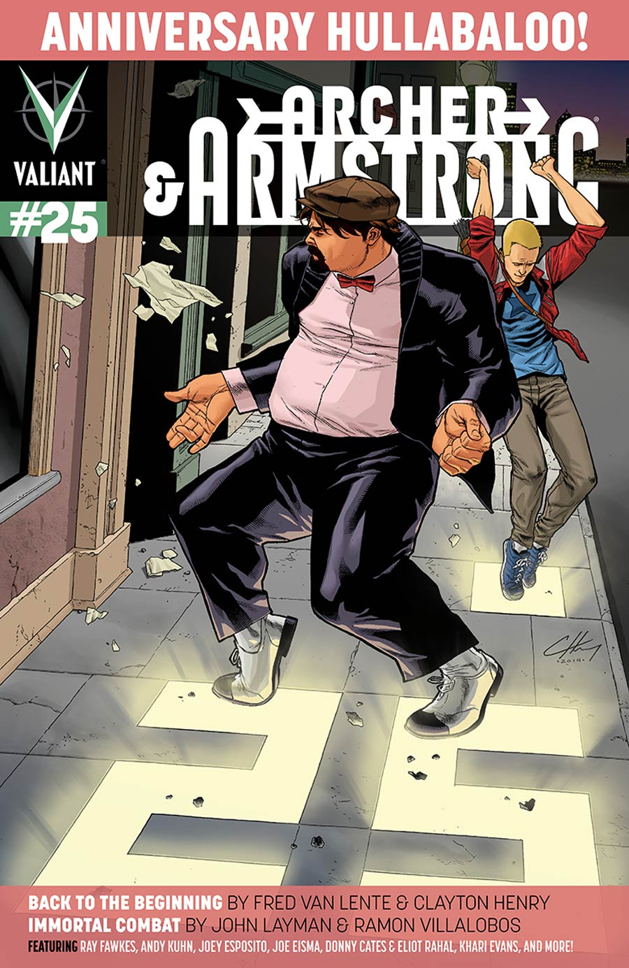 Archer & Armstrong Vol 2 #25 Cover A Regular Clayton Henry Cover