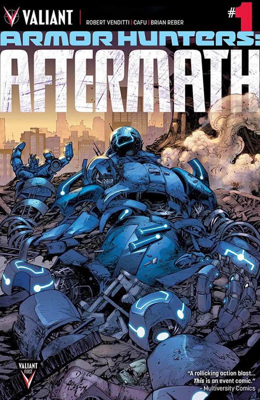 Armor Hunters Aftermath #1 Cover A Regular Diego Bernard Cover
