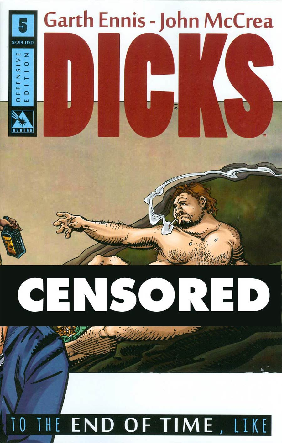 Dicks End Of Time #5 Cover B Offensive Cover
