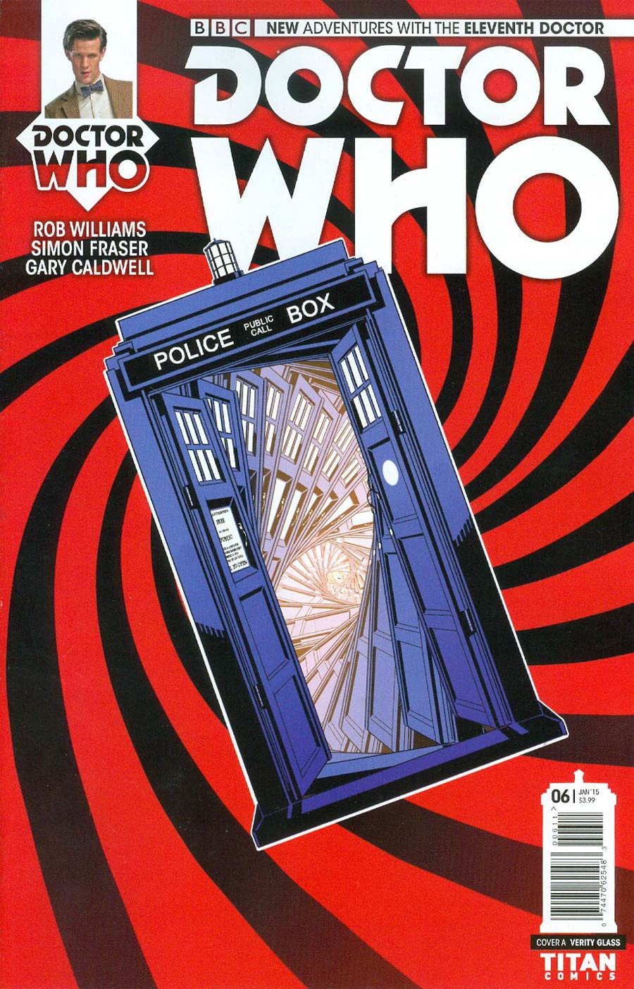 Doctor Who 11th Doctor #6 Cover A Regular Verity Glass Cover