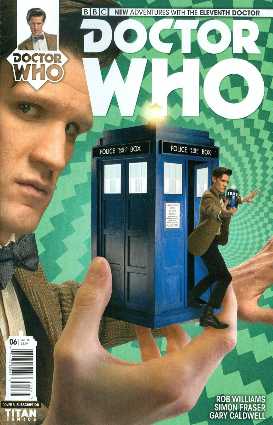 Doctor Who 11th Doctor #6 Cover B Variant Photo Subscription Cover