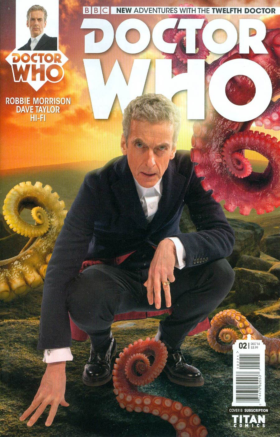 Doctor Who 12th Doctor #2 Cover B Variant Photo Subscription Cover