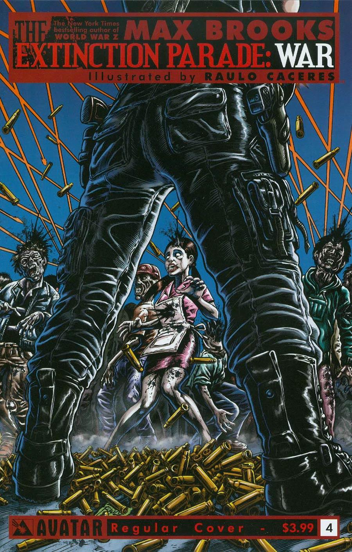 Extinction Parade War #4 Cover A Regular Cover