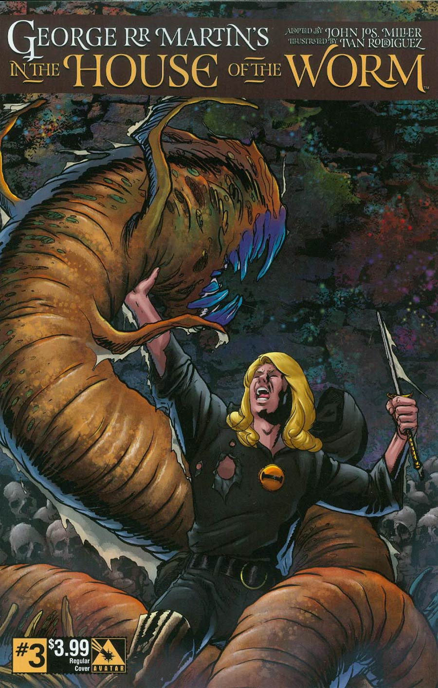 George RR Martin In The House Of The Worm #3 Cover A Regular Cover