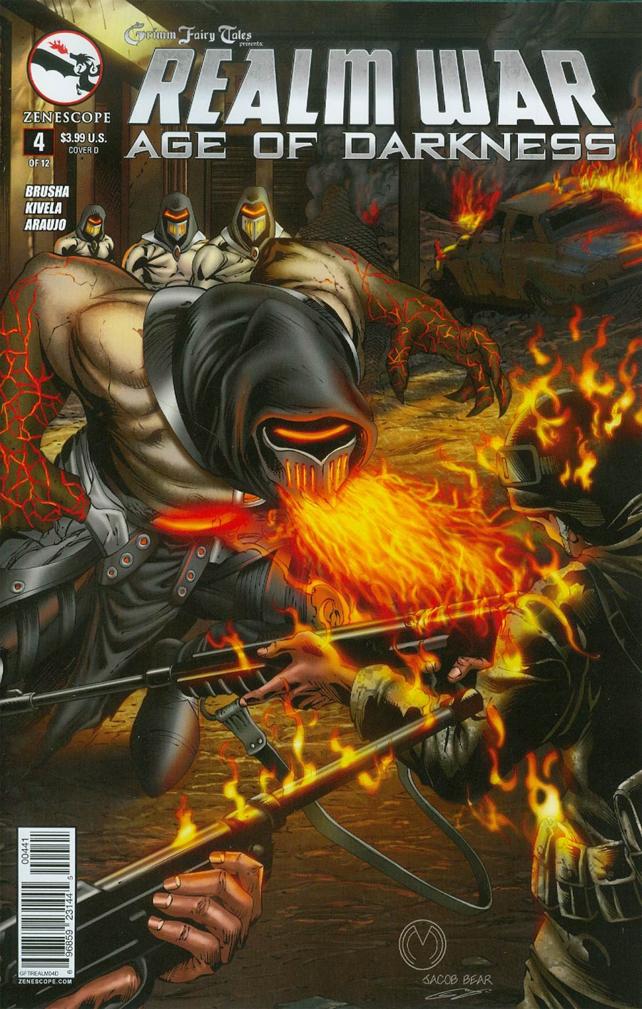 Grimm Fairy Tales Presents Realm War #4 Cover D Marat Mychaels (Age Of Darkness Tie-In)