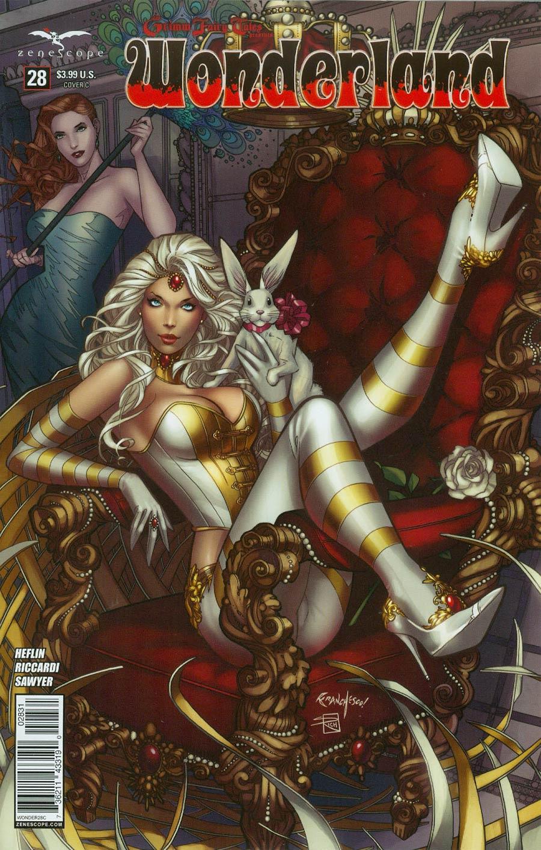 Grimm Fairy Tales Presents Wonderland Vol 2 #28 Cover C Franchesco